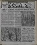 Cedars, December 3, 1999 by Cedarville College
