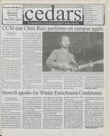 Cedars, January 21, 2000 by Cedarville College