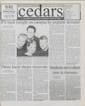 Cedars, April 7, 2000 by Cedarville College