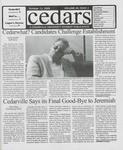 Cedars, October 13, 2000