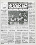 Cedars, November 3, 2000