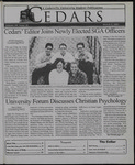 Cedars, March 9, 2001 by Cedarville University