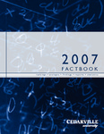 2007 Cedarville University Factbook