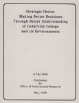 1988 Cedarville College Factbook