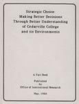 1988 Cedarville College Factbook