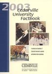 2003 Cedarville University Factbook by Cedarville University