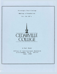 1990 Cedarville College Factbook