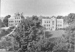 Aerial View of Founders Hall and Collins Hall