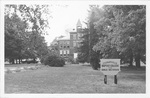 1953-1954 Postcard of Founders Hall by Cedarville College