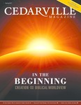 Cedarville Magazine, Spring 2017: In the Beginning
