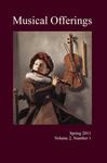 Musical Offerings: Volume 2, Number 1
