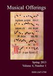 Musical Offerings: Volume 4, Number 1