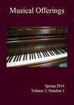 Musical Offerings: Volume 5, Number 1
