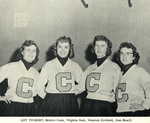 1954-1955 Cheerleaders by Cedarville College