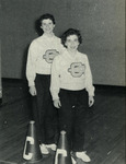 1956-1957 Cheerleaders by Cedarville College