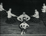 1959-1960 Cheerleaders by Cedarville College