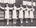 1961-1962 Cheerleaders by Cedarville College
