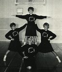 1965-1966 Cheerleaders by Cedarville College
