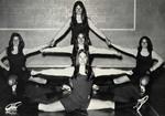 1971-1972 Cheerleaders by Cedarville College