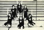 1973-1974 Cheerleaders by Cedarville College