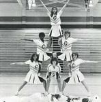 1981-1982 Cheerleaders by Cedarville College