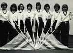 1983-1984 Cheerleaders by Cedarville College