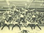 1985-1986 Cheerleaders by Cedarville College