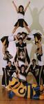 1986-1987 Cheerleaders by Cedarville College
