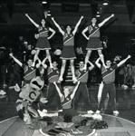 1987-1988 Cheerleaders by Cedarville College