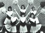 1989-1990 Cheerleaders by Cedarville College