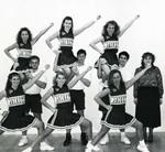 1992-1993 Cheerleaders by Cedarville College