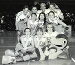 1995-1996 Cheerleaders by Cedarville College