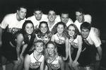 1998-1999 Cheerleaders by Cedarville College