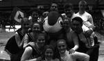 2000-2001 Cheerleaders by Cedarville University