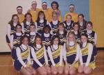2009-2010 Cheerleaders by Cedarville University