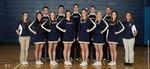 2014-2015 Cheerleaders by Cedarville University