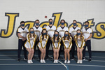 2020-2021 Cheerleaders by Cedarville University
