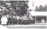 1963 Commencement Procession by Cedarville College