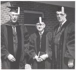 1963 Dr. James T. Jeremiah & Professors by Cedarville College