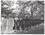 1964 Commencement Procession by Cedarville College