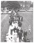 1964 Commencement Crowd Photo by Cedarville College