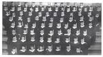 1965 Class Bleacher Photo by Cedarville College