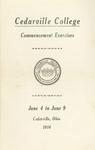 1916 Commencement Exercises