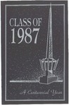 1987 Commencement Program by Cedarville College