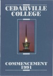 1991 Commencement Program