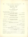 1937 Baccalaureate Service