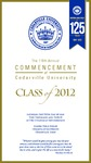 2012 Commencement Video
