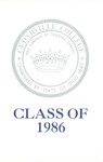 1986 Commencement Audio by Cedarville College