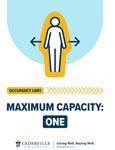 Maximum Capacity: One by Cedarville University