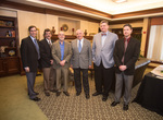 Charles Murray and Faculty by Cedarville University